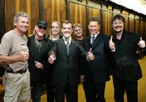 Deep Purple играет для будущего президента России picture