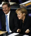 Ангела Меркель и Гидо Вестервелле