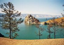 Озеро Байкал, скала Ольхон