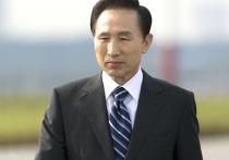 Президент Южной Кореи Ли Мен Бак прибыл в Москву