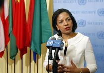 Постоянный представитель США при ООН Сьюзан Райс