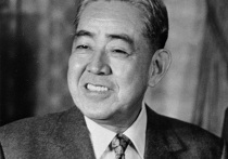 Премьер-министр Японии Эйсаку Сато