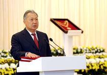 Курманбек Бакиев вступил в должность президента Киргизии