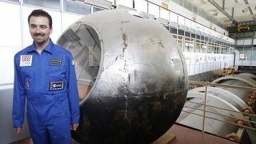 Ромен Шарль французский участник проекта марс-500