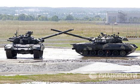 Танк-Т 90