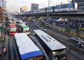 Пробки на дорогах филиппины манила