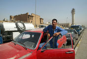 Пробки на дорогах ирак багдад