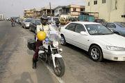 Пробки на дорогах нигерия лагос