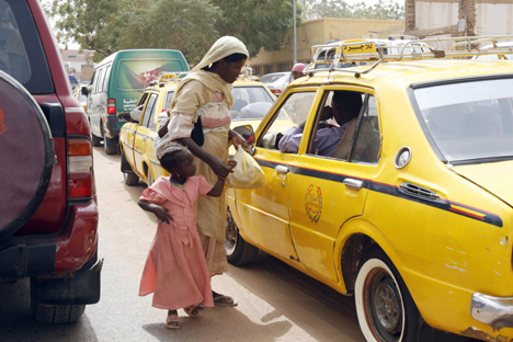 Пробки на дорогах судан хартум