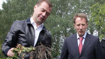 Рабочая поездка Д.Медведева в Воронежскую область