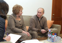 Владимир Путин принял участие во Всероссийской переписи