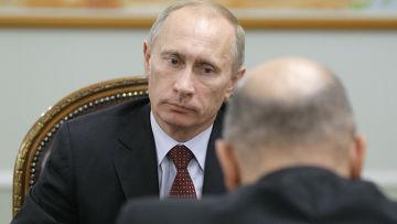 Владимир Путин провел рабочую встречу с Михаилом Мишустиным