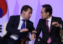 Официальный визит Дмитрия Медведева в Республику Корея