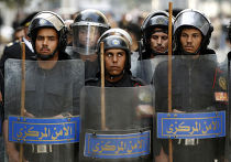 Беспорядки в центре Каира