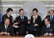 Официальный визит Д.Медведева в Италию