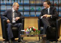 Встреча Владимира Путина с Жозе Мануэлем Баррозу