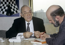 Шахматист Виктор Корчной