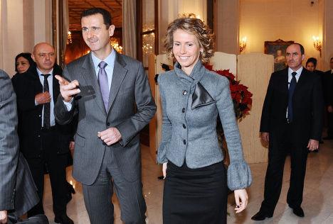 Асма аль-Ассад — первая леди Сирии, жена президента Башара аль-Ассада