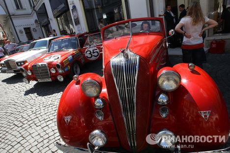 Ралли экзотических авто L.U.C Chopard Classic Weekend Rally 2011