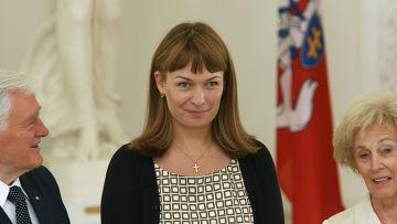 Супруга президента Грузии Сандра Рулофс