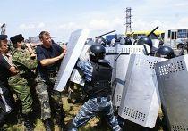 драка 500 спецназовцев и 300 крымских казаков