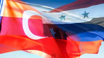 Турция, Сирия, Россия