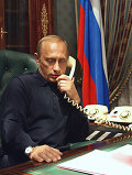 Разговор по телефону В.Путина с Дж.Бушем