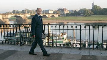 Визит президента России в Германию