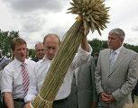 """Президент РФ посетил выставку """"День российского поля-2007"""""""