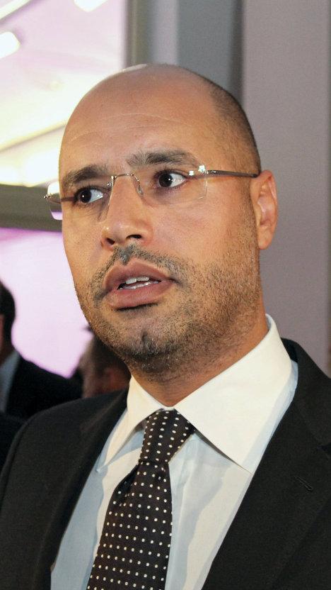 Сейф аль-Ислам Каддафи - сын Муаммара Каддафи
