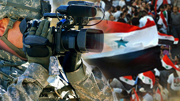 Журналист в Сирии
