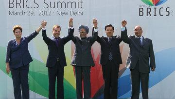 Д.Медведев принимает участие в саммите БРИКС