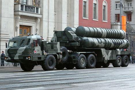 Российская зенитная ракетная система С-400