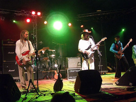 Белорусская рок-группа «Крамбамбуля»
