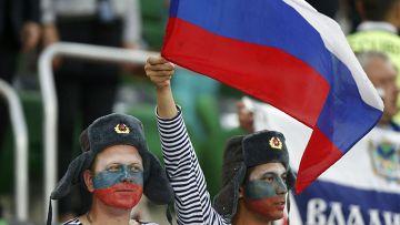 Российские болельщики на ЧЕ по футболу