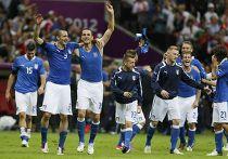 Футболисты сборной Италии на Евро-2012