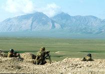 Военнослужащие таджикской армии