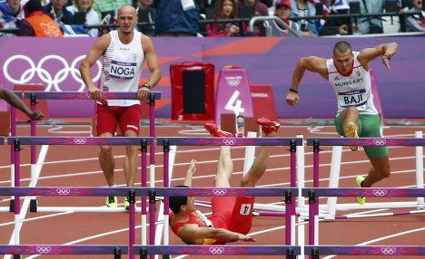 Китайский легкоатлет Лю Сян
