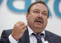 Пресс-конференция депутата Госдумы Геннадия Гудкова