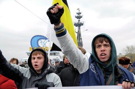 Русский марш в Москве