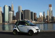 Автомобиль Daimler Smart Electric Drive