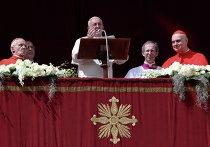 Папа Франциск поздравил католиков с Пасхой