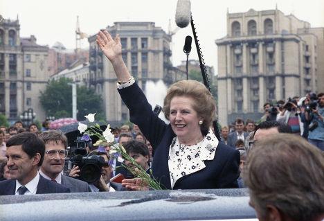 Рабочий визит в СССР премьер-министра Великобритании Маргарет Тэтчер