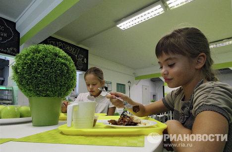 """""""Столовая будущего"""" в московской школе"""