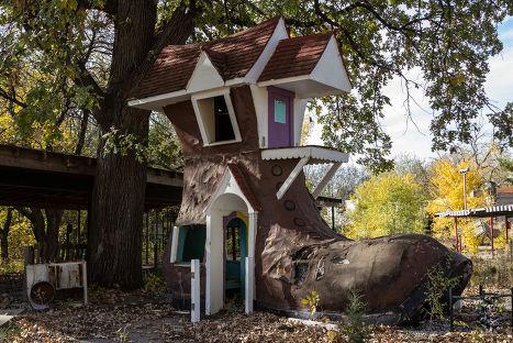 Заброшенный парк развлечений в г. Уичито, Канзас