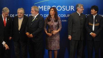 Саммит стран Южноамериканского общего рынка (МЕРКОСУР) завершил свою работу