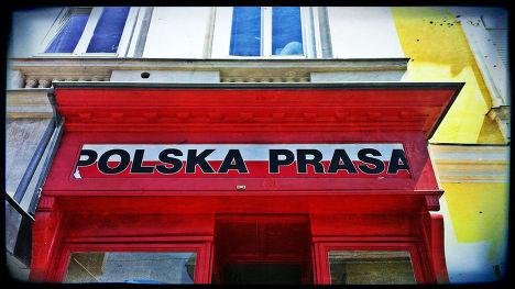 Киоск с польской прессой в Вене
