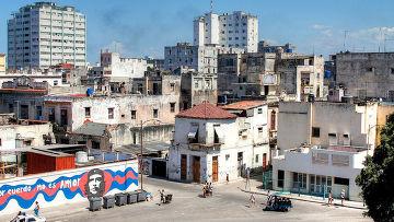 Одна из улиц Гаваны, Куба