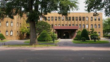 Университет Хоккайдо в центре города Саппоро