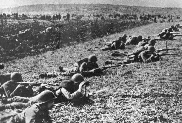 Польские солдаты в ходе боев за Польшу